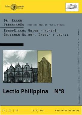 Poster zur Ankündigung der Lectio Philippina 2019