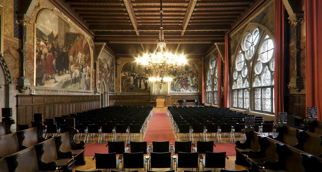 Foto der Alten Aula der Philipps-Universität Marburg