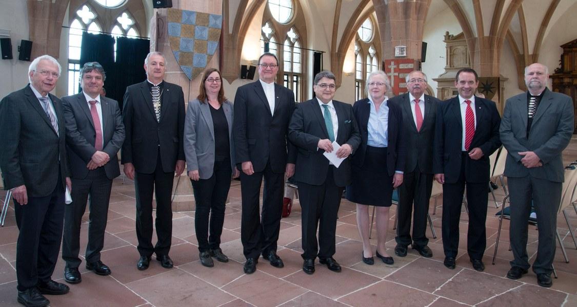 Gruppenfoto Fürstensaal