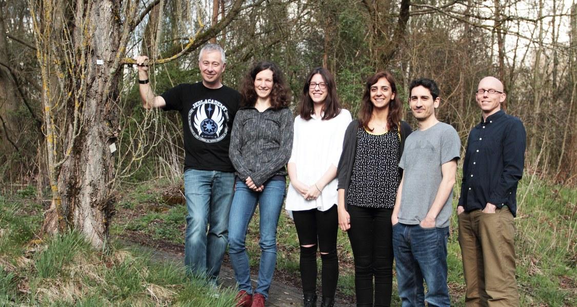 Gruppenfoto der Forschenden
