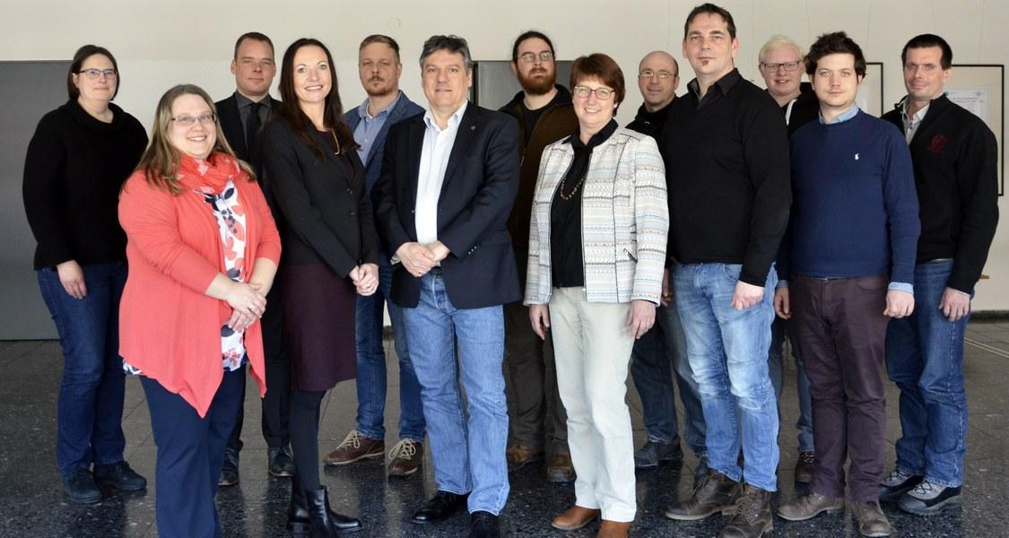 Gruppenfoto des iCM-Projekt-Teams