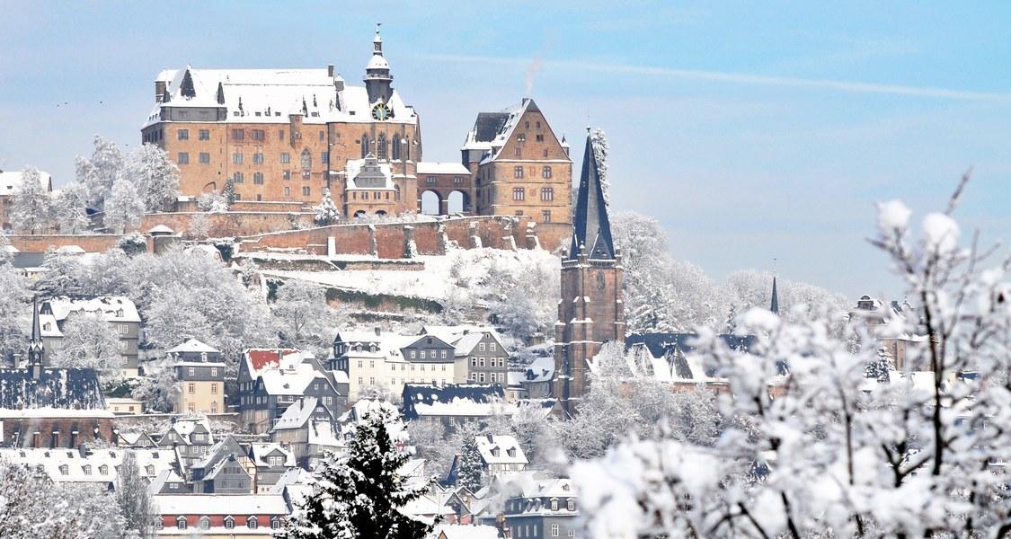 Panoramafoto Schloss