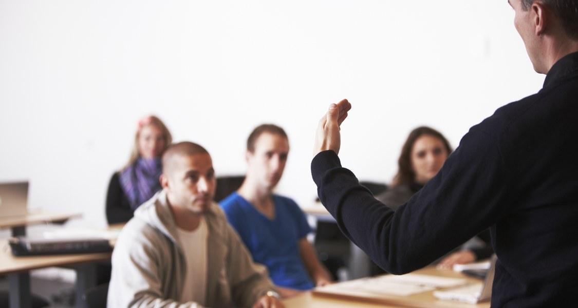 Foto von Teilnehmern eines Seminars