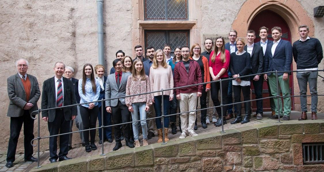 Gruppenfoto der Stipendiaten