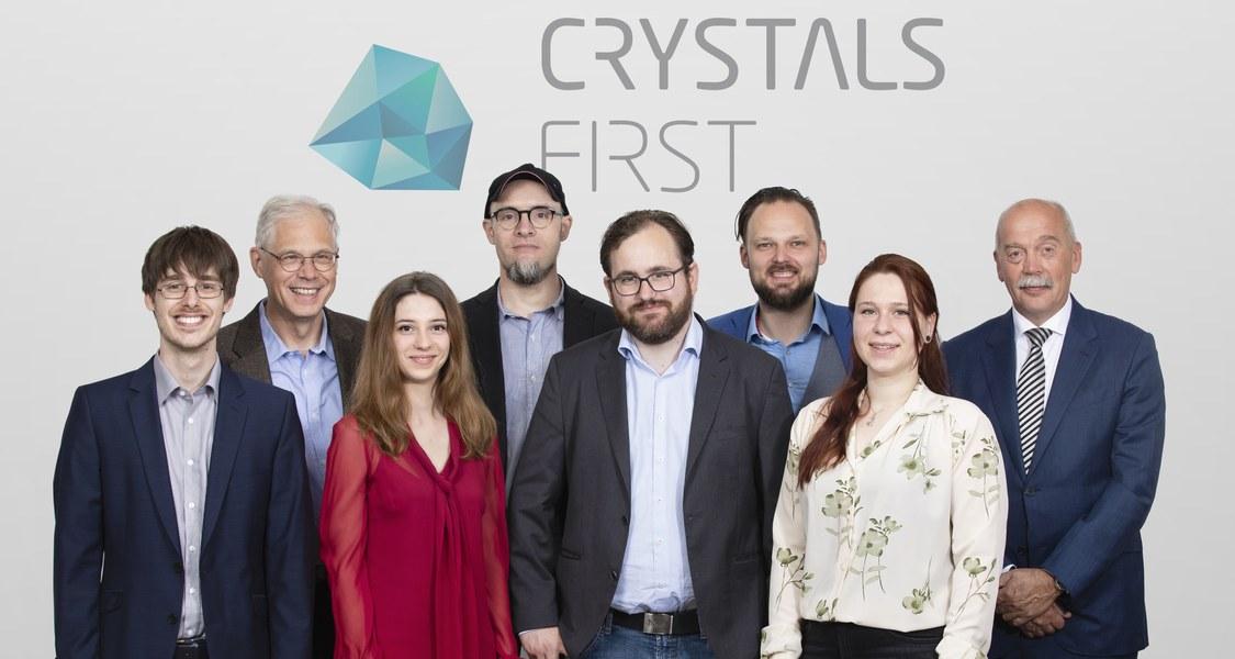 Gruppenfoto Team CrystalsFirst