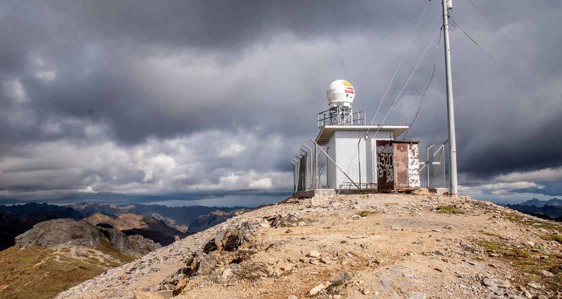 Foto von Radarstation