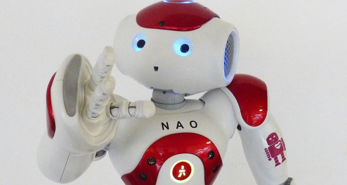 Foto vom Roboter Nao