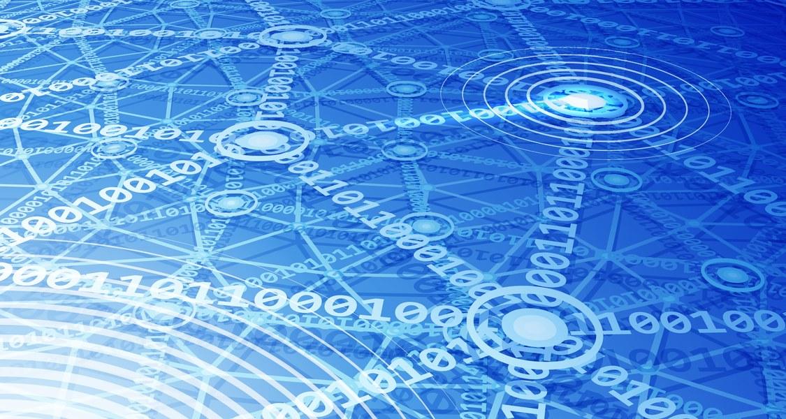 Netzwerk der Ziffern 0 und 1