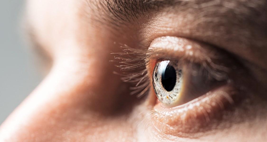 Foto eines Auges