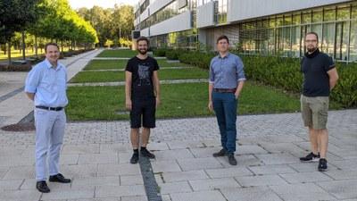 Gruppenfoto des Forschungsteams