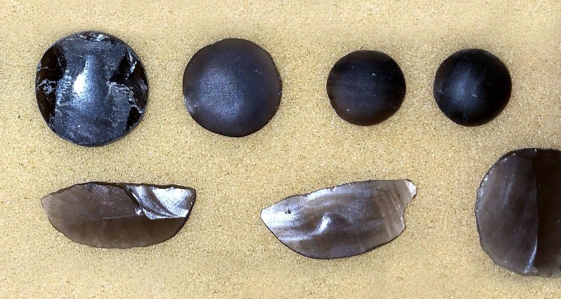 Obsidianwerkstücke aus Xalasco bestehen aus einem Material, das in der Nähe der Fundstelle gefördert wurde, fanden Archäologen mit Hilfe Künstlicher Intelligenz heraus.