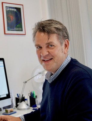 Der Marburger Physiologe Professor Dr. Sven Bogdan leitete die Untersuchungen zur Zellwanderung von Muskelfaser-Vorläufern.