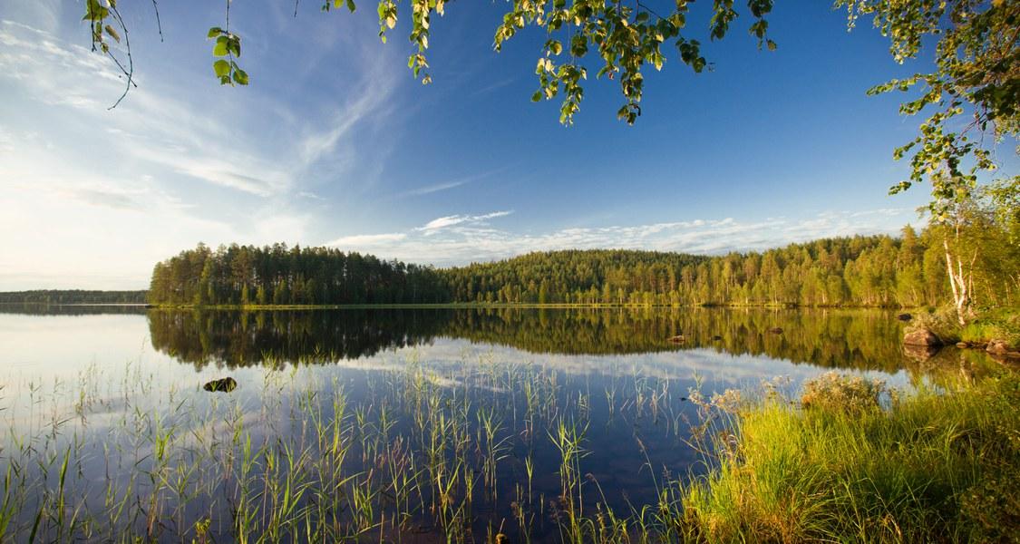 Foto von einem See