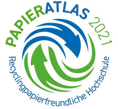 Logo des Wettbewerbs Recyclingpapierfreundliche Hochschule