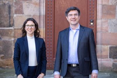Professor Tobias Helms und Dr. Susanne Schenider vom Marburger Fachbereich Rechtswissenschaften beteiligten sich an Studie zu Betreuungsmodellen für Scheidungskinder.