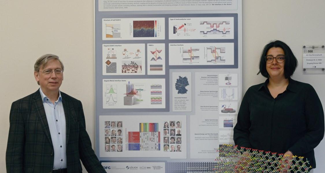 Foto von Prof. Höfer und Prof. Volz