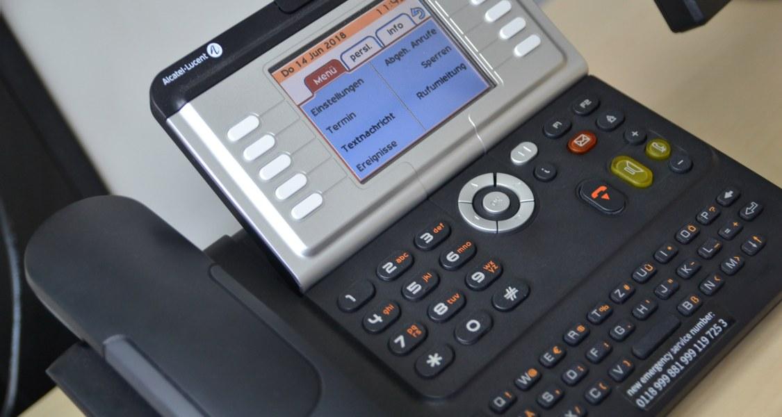 Foto eines Telefons