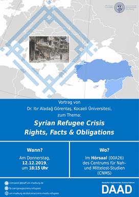 Syrian Refugee Crisis