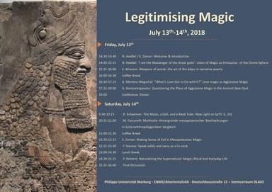 Poster Legitimising Magic
