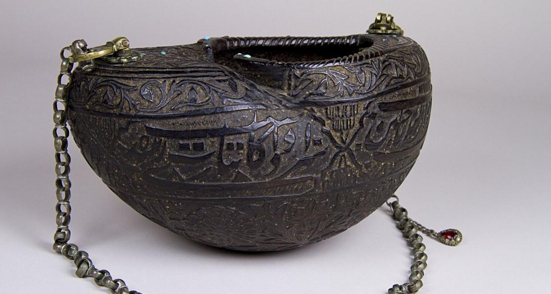 Kashkul Objekt der Religionskundlichen Sammlung, Marburg Objektnummer HN 009