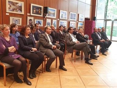 Empfang in der ägyptischen Botschaft in Berlin.