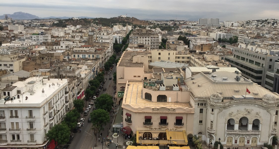 Luftaufnahme Tunis