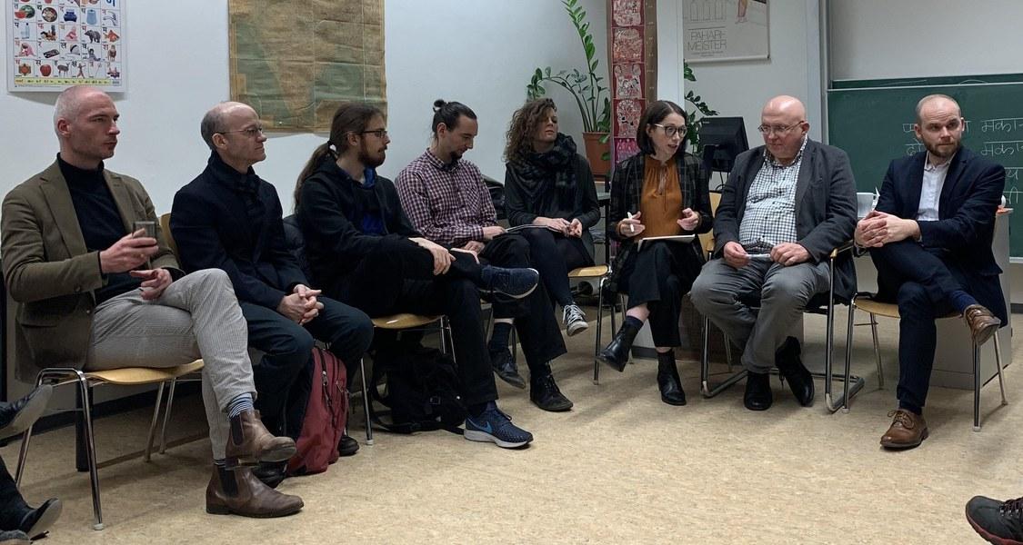 """Foto vom Workshop """"Artes Docendi - Die Didaktiken alter Sprachen im Zwiespalt der Traditionen"""" am 7. November 2019 in Marburg"""