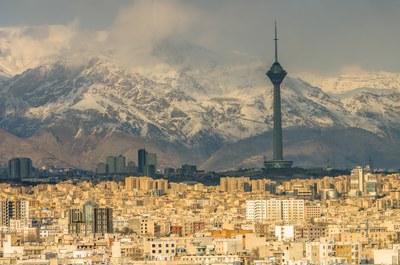 Tehran Skyline Milad Tower