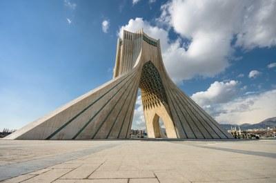 Azadi Tower Tehran Iran Beton