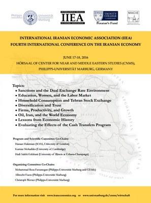 Poster Iran Conference Vorschau