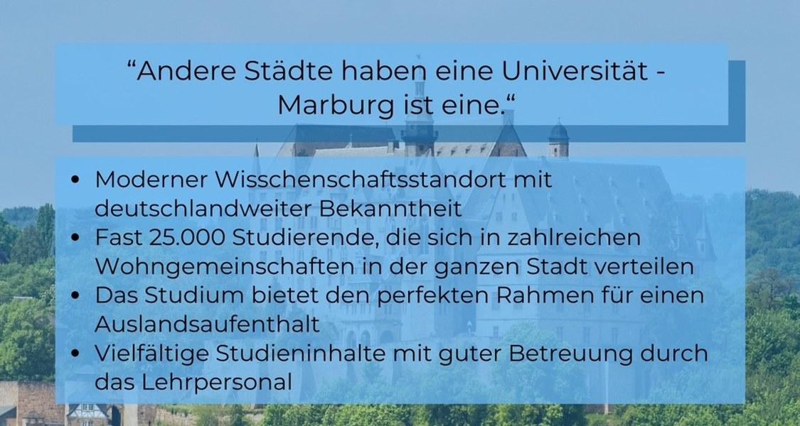 Jura studieren, Jurastudium, Uni Marburg