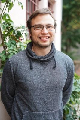 Portrait von Herrn Tobias Römer (wissenschaftlicher Mitarbeiter)