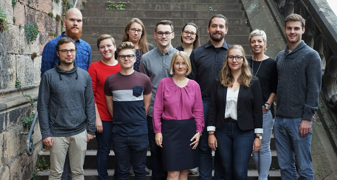 Das Team der Professur für Strafrecht, Strafprozessrecht, internationales Strafrecht und Rechtsvergleichung
