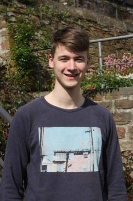 Portrait von Herrn Jonatan Gebhardt (studentische Hilfskraft)