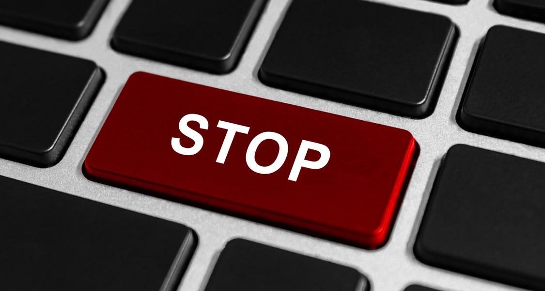 Stopp Tastatur