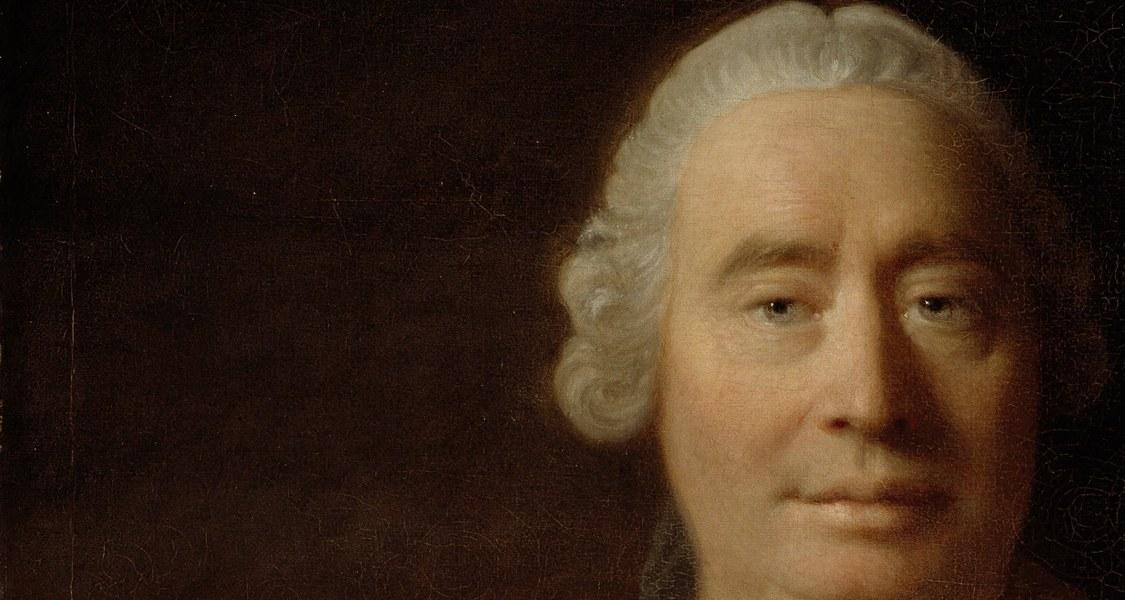 Porträt von David Hume, gemalt von Allan Ramsay