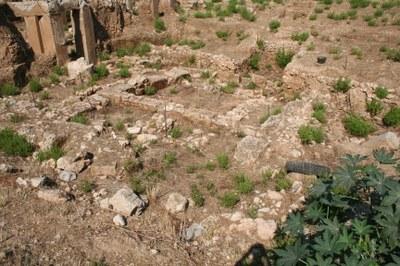Späteisenzeitliches und hellenistisches Gebäude BEY 155