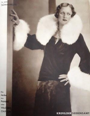 Modetrends der 1920er Jahre in der Illustrierten, Stadtarchiv Krefeld
