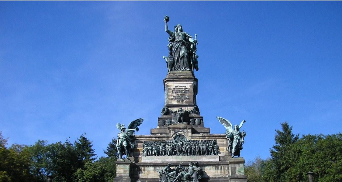Niederwald Memorial, near Rüdesheim/Germany