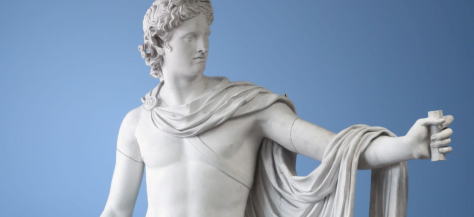 Apollon aus der Abgusssammlung des Archäologischen Seminars
