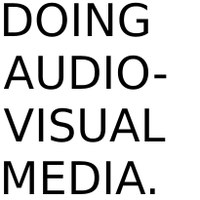 Doing Audiovisual Media_LOGO