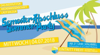 Flyer Sommerfest 2018