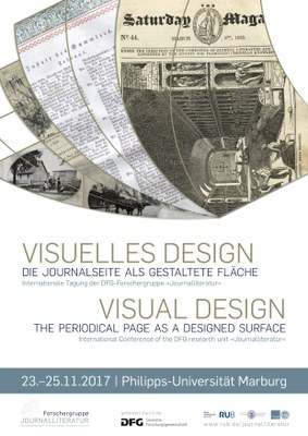 Visuelles Design Plakat