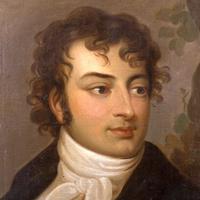 Auf diesem Bild ist ein Portrait August Wilhelm Schlegels zu sehen.