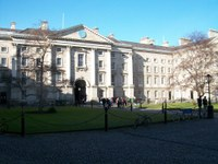 Trinity College Dublin, Regent House, TCD, from Parliament Square