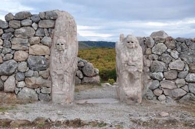 Sphinx-Tor in der Hethiterhauptstadt Hattuscha