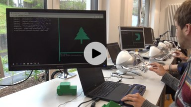 Video teaser for paper: Haptic and Auditive Mesh Inspection for Blind 3D Modelers