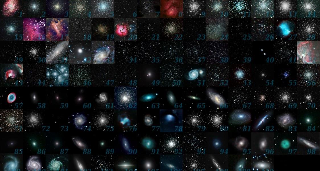 Alle Messier Objekte, Wikipedia