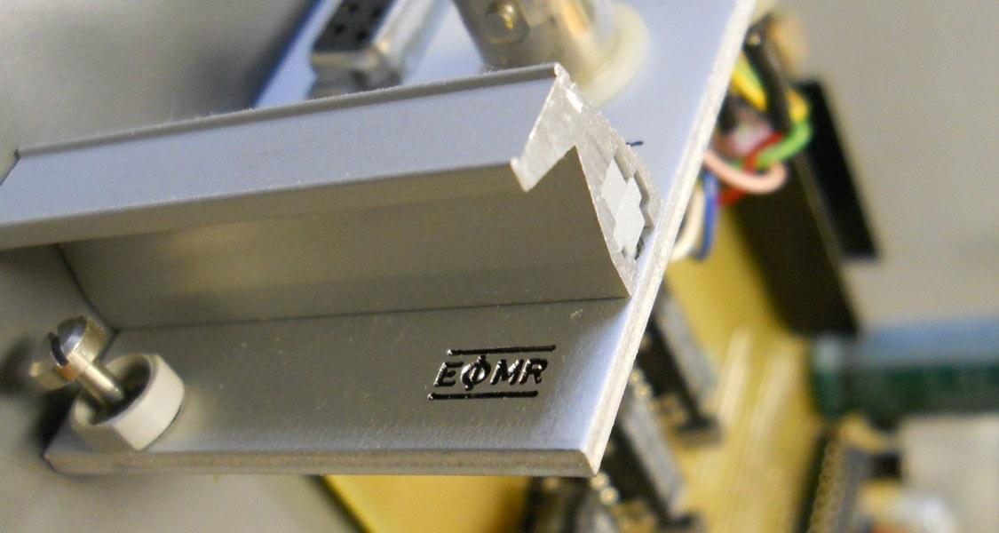 Leiterplatte aus dem Elektroniklabor