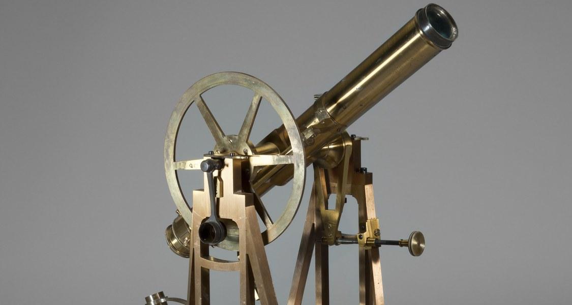 Repetitionstheodolit, Fa Breithaupt, angeschafft 1823 für die Kurhessische Triangulierung